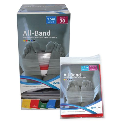 Allcare Resistance Band 1.5m Box of 30
