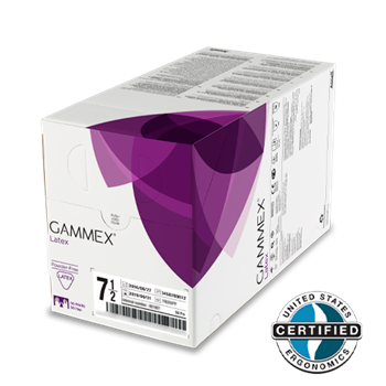GAMMEX STERILE POWDER FREE SURGICAL GLOVES - 50