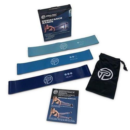 Pro-Tec Resistance Band Loops - Pack of 3