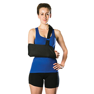 AOS16 AllCare Ortho Arm Sling - Immobiliser with Waist Strap