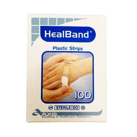 Band-Aid Plastic Strips - 100