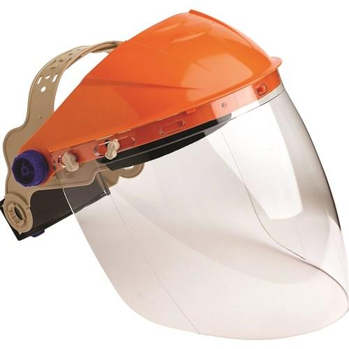 BROWGUARD WITH VISOR CLEAR LENS-ProChoice-Task Supplies
