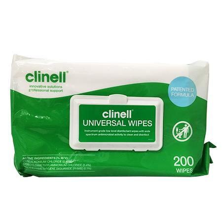 CLINELL UNIVERSAL WIPES-CLINELL-Task Supplies