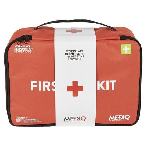 ESSENTIAL WORKPLACE RESPONSE FIRST AID KIT IN SOFT PACK-MEDIQ-Task Supplies