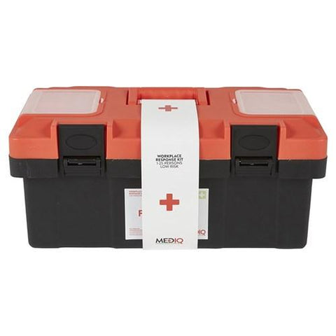 ESSENTIAL WORKPLACE RESPONSE FIRST AID KIT-MEDIQ-Task Supplies