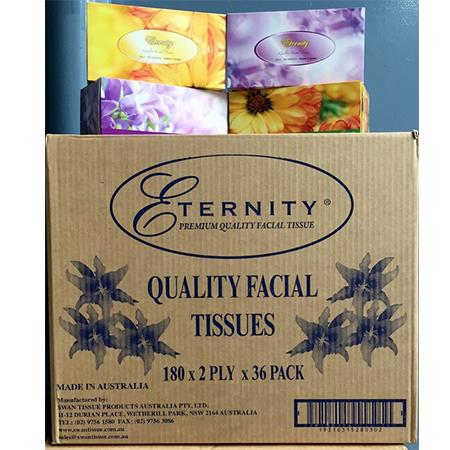 FACIAL TISSUE - 2PLY-ETERNITY-Task Supplies