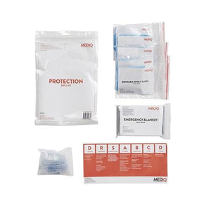 FIRST AID KIT REFILL MODULE #2 -PROTECTION-MEDIQ-Task Supplies