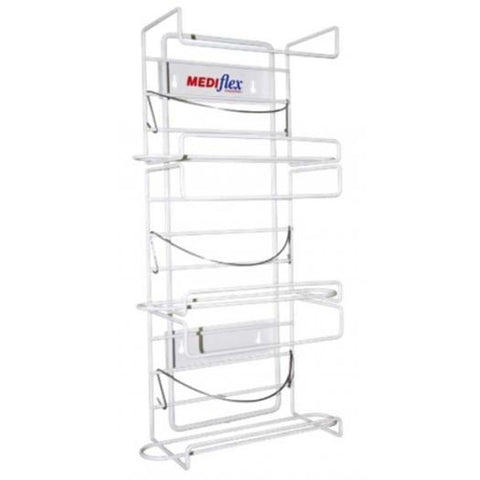 GLOVE DISPENSER - 4 TIER-MEDIFLEX-Task Supplies