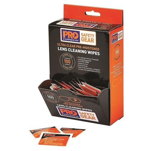 LENS CLEANING WIPE-ProChoice-Task Supplies