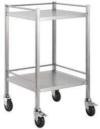 SINGLE SHELF TROLLEY - NO DRAW-TASK-Task Supplies