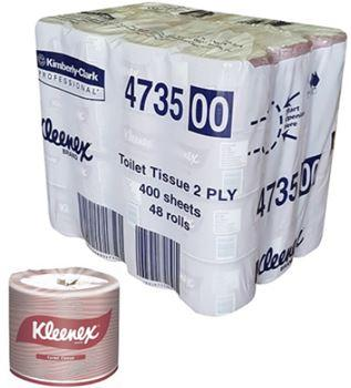 TOILET TISSUE 2PLY - (400 SHEETS X 48 ROLLS)-KLEENEX-Task Supplies