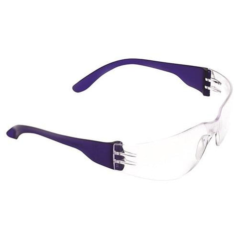 TSUNAMI SAFETY GLASSES - CLEAR LENS - PACK OF 12-ProChoice-Task Supplies