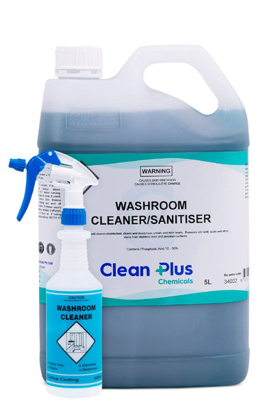 WASHROOM - CLEANER SANITISER-CLEAN PLUS-Task Supplies