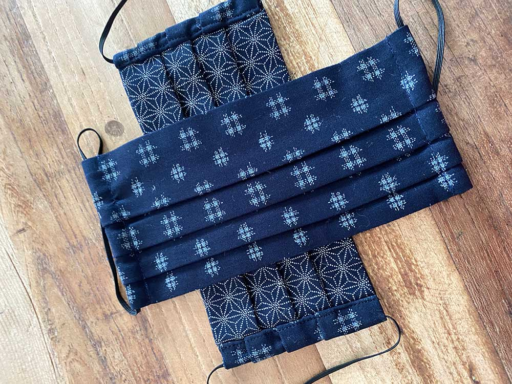 NAVY BLUE PRINT - LARGE