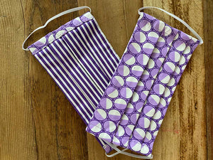 PURPLE PATTERN - SMALL