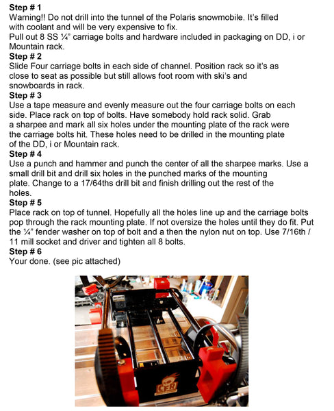 Polaris Instructions image