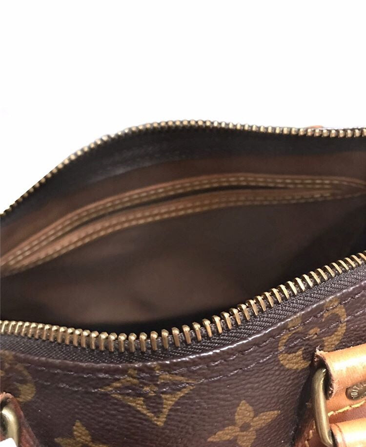 Louis Vuitton Speedy 25 small purse leather