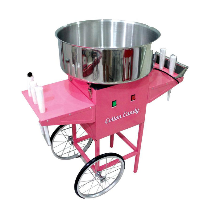 Cotton Candy Machine with Cart LSBTC - CFNCC - 100F - Laser Food Packaging Malaysia