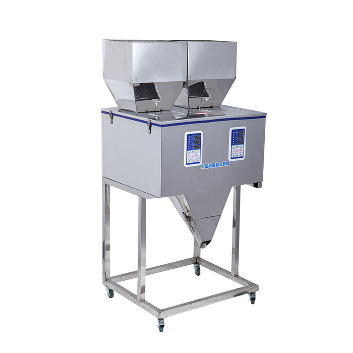 Double Hopper 1000g Powder Filler Machine - Laser Food Packaging Malaysia SDN. BHD.