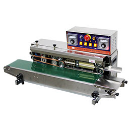 Horizontal Continuous Band Sealer Machine with Coder - Laser Food Packaging Malaysia SDN. BHD.