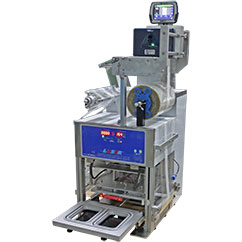 Automatic Tray Sealer Machine for Food Packaging XL 1150pcs/hr - Laser Packaging Malaysia SDN. BHD