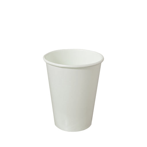 Single Wall White Paper Hot Coffee Cup Generic 12oz 90mm Diameter - Laser Packaging Malaysia SDN. BHD