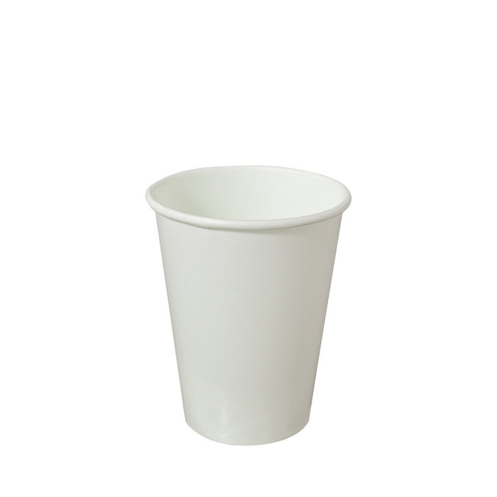 Single Wall White Paper Hot Coffee Cup 12oz 90mm Diameter - Laser Food Packaging Malaysia SDN. BHD.