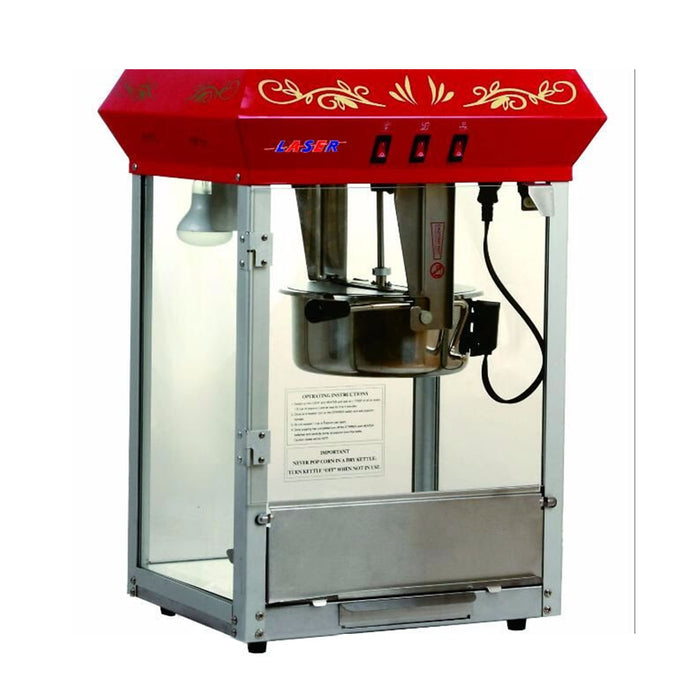 Table Top Pop-corn Machine with Authentic Design - Laser Food Packaging Malaysia SDN. BHD.