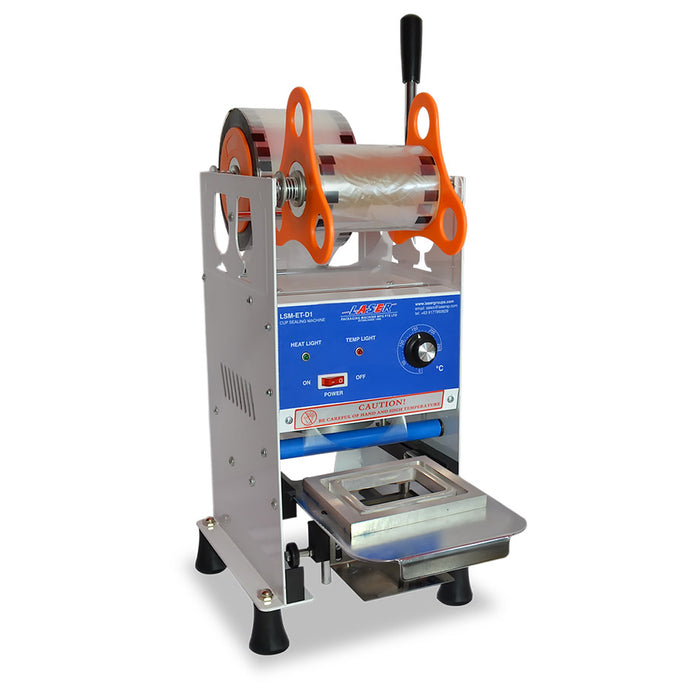 Manual Tray Sealer Machine for Food Packaging 150pcs/hr - Laser Food Packaging Malaysia SDN. BHD.