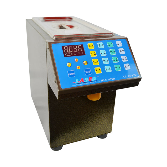 Sugar Syrup Filling Machine 16 Buttons - Laser Food Packaging Malaysia SDN. BHD.