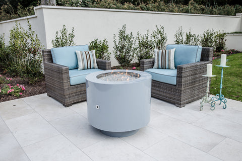 propane round fire pit