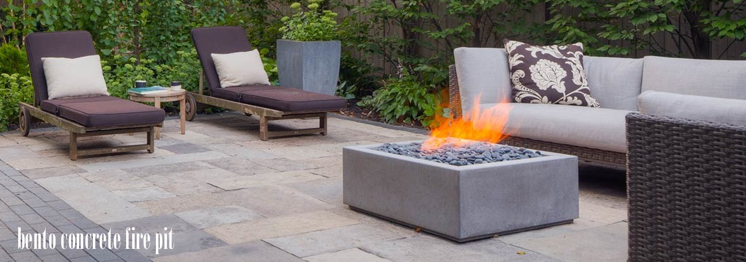 bento fire pit by paloform