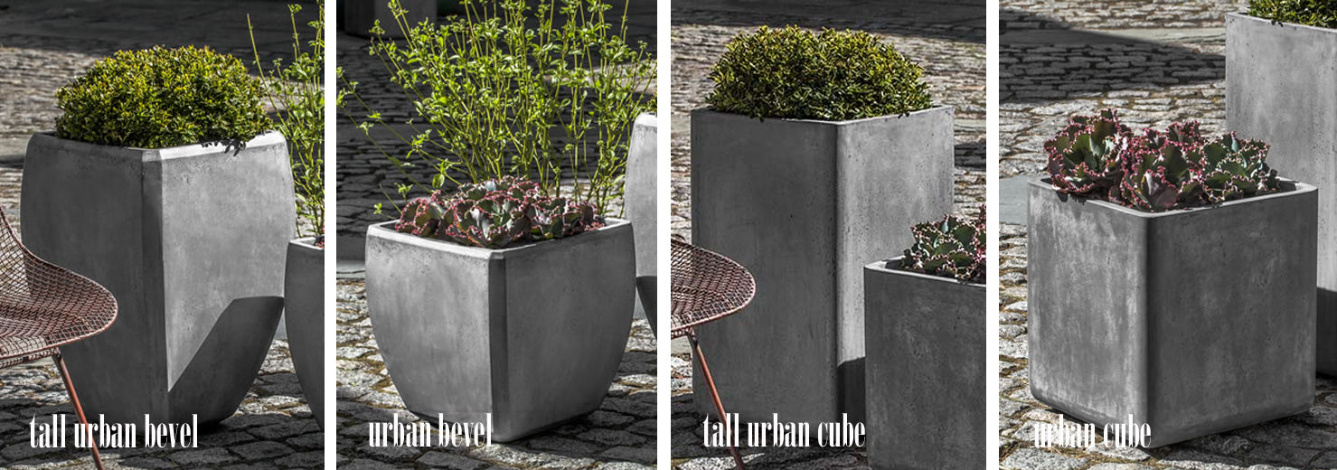 modern outdoor planters and pots