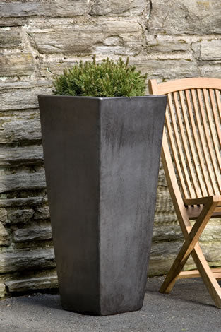 Modern Tall square planter