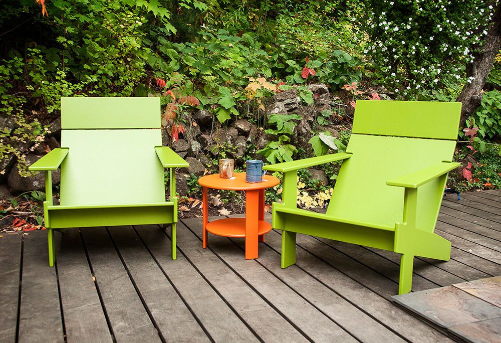 Lollygagger Patio Chair & Modern Hip Adirondack Chairs | Creative Living