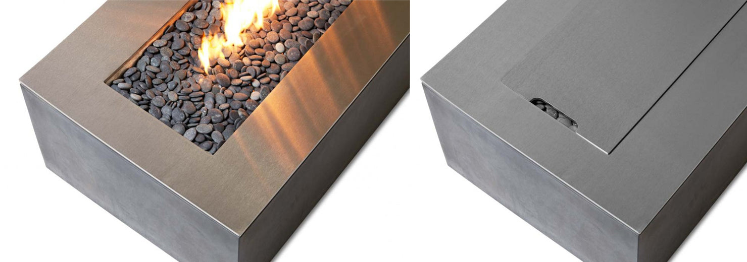 robata linear fire pit paloform