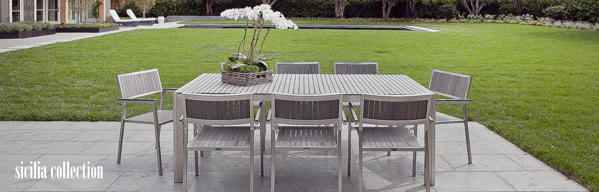 Modern Patio Dining Table
