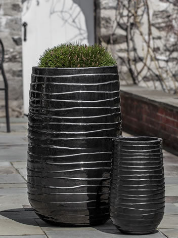 Unique modern ceramic planters