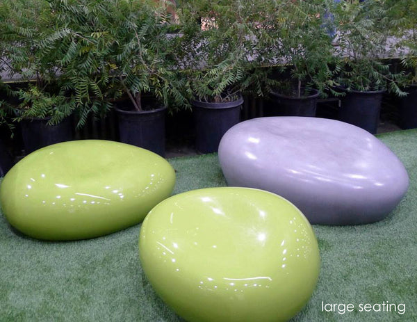 Modern Outdoor Seating Pebble Creative Living