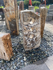 Modern Fountain - Carved