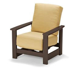 LEEWARD COLLECTION HIDDEN MOTION ARM CHAIR