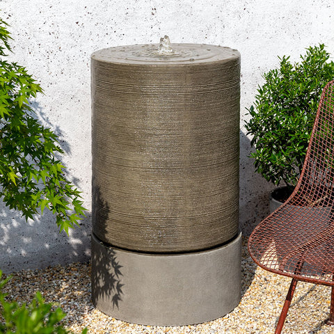 Modern Fountain - Large Cylinder