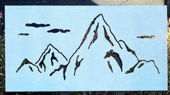 MOUNTAIN OUTDOOR WALL  ART