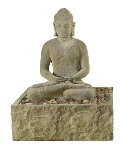 Modern Fountain - Sitting Buddha