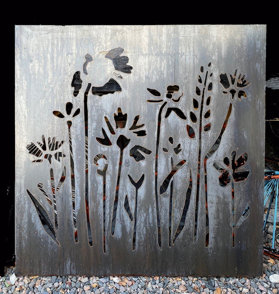 WILDFLOWERS 2 OUTDOOR WALL ART