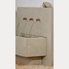 X 3 outdoor fountain