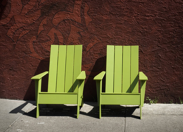 Modern Flat Adirondack Chair Denver Co Creative Living