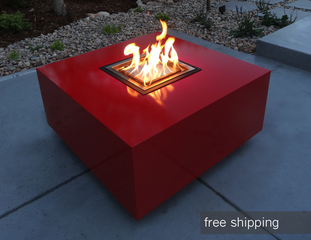 Modern Outdoor Fire Pit Denver Colorado Creative Living