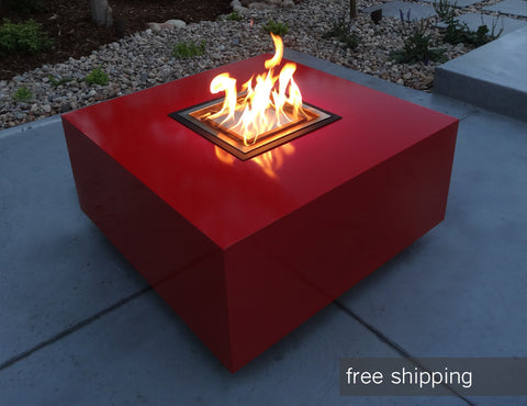 block fire pit by ore Denver