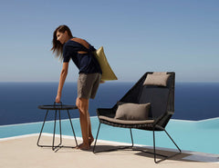 high back breeze chair